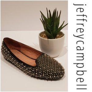 JEFFREY CAMPBELL Martini Studded Flats